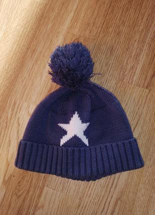 Зимняя шапка на мальчика шапочка