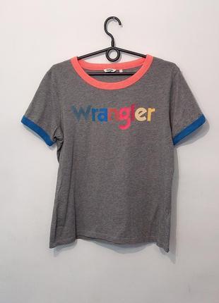 Крутая фирменная футболка wrangler