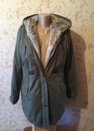 Куртка парка женская осень- зима