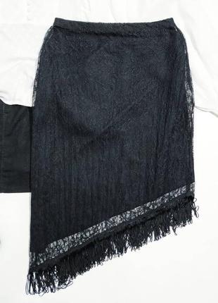 ❤️ажурная юбочка с бахрамой