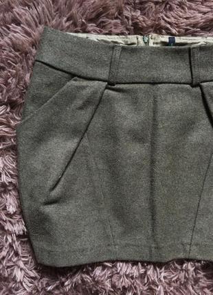 Теплая юбка benetton