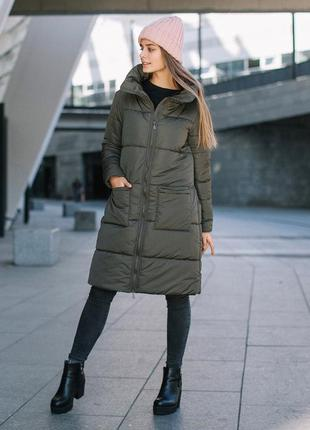 Зимняя куртка для беременных, слингопальто love&carry 3в1