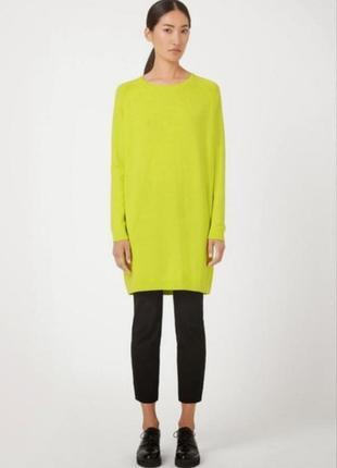 Новое платье cos 100% шерсть 8-10-12