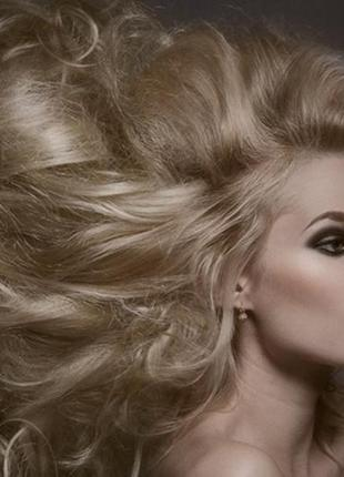 Натуральные 100% волосы,  тресс, длина  50см