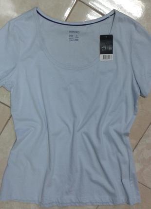 Базовая футболка м-л германия esmara