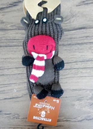 Новорічні шкарпетки reindeer 2