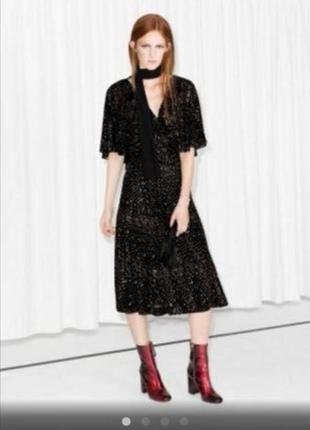 Красивенное нарядное платье под винтаж