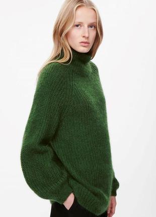 Тёплый свитер с мохером и шерстью cos