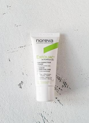 Крем для жирной кожи c кислотами noreva exfoliac acnomega 200