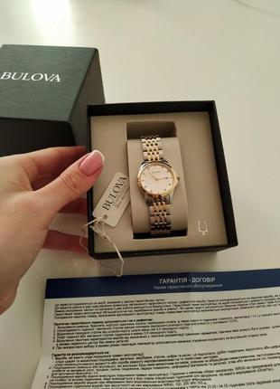 Часы bulova diamonds оригинал