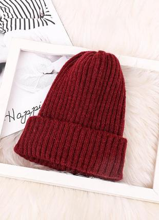 5 красивая вязаная шапка