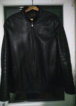 Чоловіча куртка з натуральної шкіри