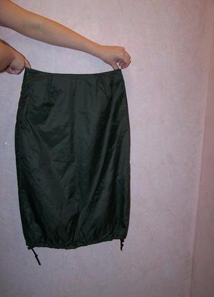Отличная юбка хаки утепленная италия