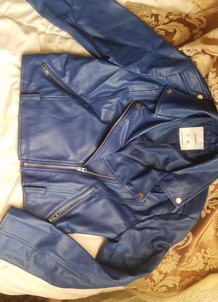 Шкіряна куртка l
