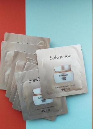 Увлажняющий крем для здорового сияния sulwhasoo luminature glow cream люкс