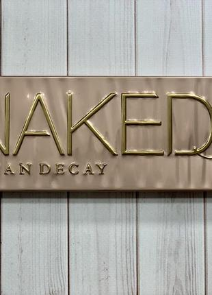 Палетка теней urban decay, naked 3