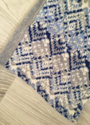 Тёплые штаны брюки от пижамы батал marks & spenser