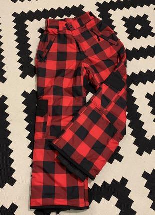 Мембранные штаны warp tcs water 3000 p.152, лыжные сноубордические штаны, швеция