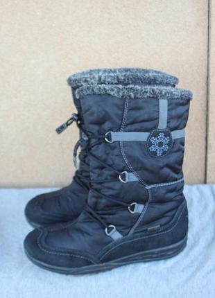 Зимние ботинки superfit gore-tex германия 37р непромокаемые сапоги
