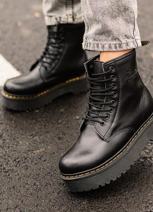 Теплые ботинки dr.martens jadon