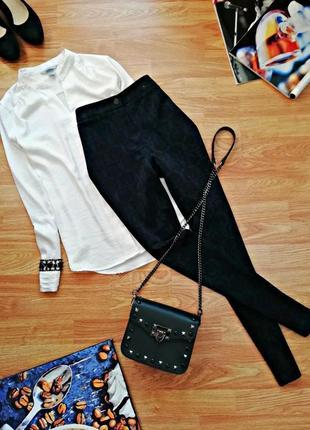 Женские плотные эластичные брюки - леггинсы - скинни atmosphere - размер 42-44