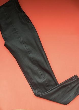 Леггинсы легинсы брюки штаны лосины еко кожа zara