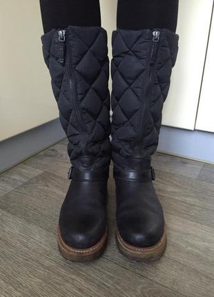 Moncler ориг італія жіночі чоботи/ женские сапоги, ботинки