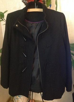 Пальто полупальто куртка naf-naf
