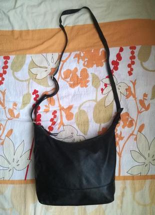 Кожаная сумка с длинным ремнем rowallan(легкая из нежной кожи)