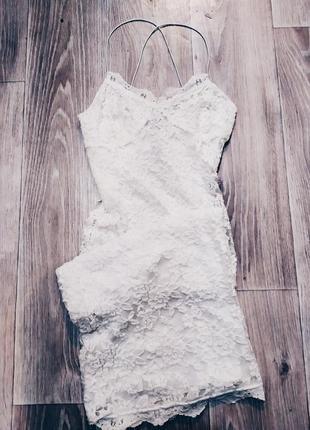 Кружевное платье, гепюровое платье