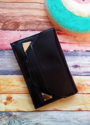 Чёрный 💣 классический клатч dorothy perkins