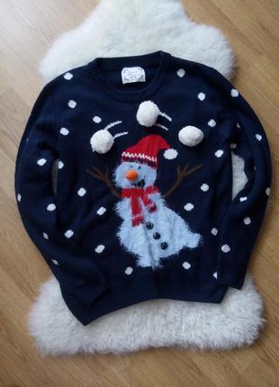 Новогодний свитер/светрик/рождественский свитерок