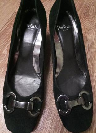 Туфли замша португалия