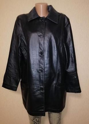 🔥🔥🔥красивая женская демисезонная куртка, пиджак из натуральной кожи milan leather🔥🔥🔥