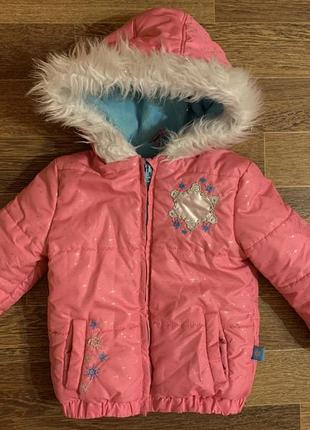 Супер тёплая куртка disney