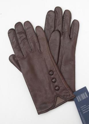 Размер 7,5 перчатки из кожи ягненка на шерстяной вязке, румыния