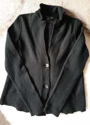 Женский шерстяной жакет пиджак кардиган marc o polo