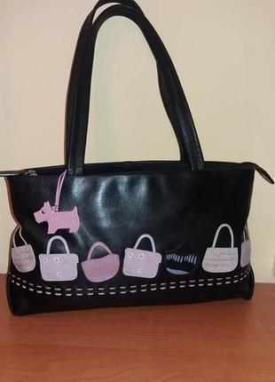 Кожаная сумочка radley