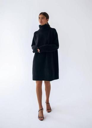 Тёплый свитер - платье
