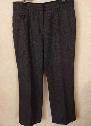 Теплые брюки, с германии,шерсть 42%