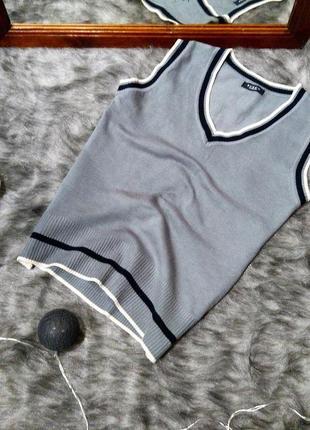 Джемпер пуловер кофточка в стиле преппи