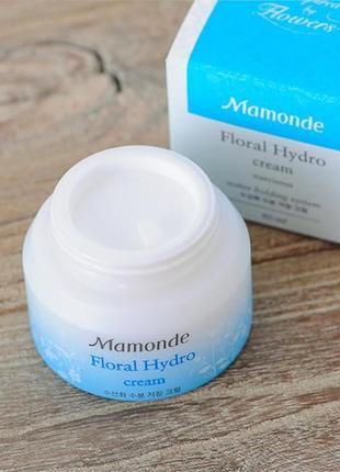 Увлажняющий крем с экстрактом нарцисса mamonde floral hydro cream 15 мл