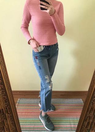 Джинсы джинси pull and  bear крутые