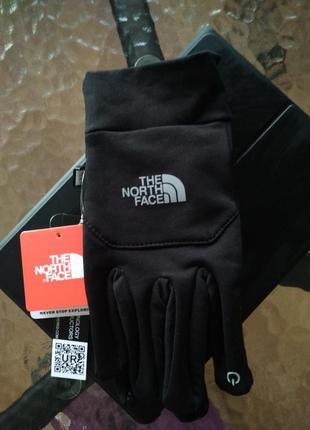 The north face men's etip touch glove tnf перчатки