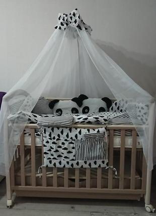 Бортики в кроватку bonna