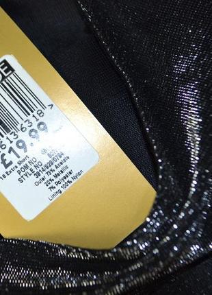 Расклешенное платье на бретельках с люрексом переливающее5 фото
