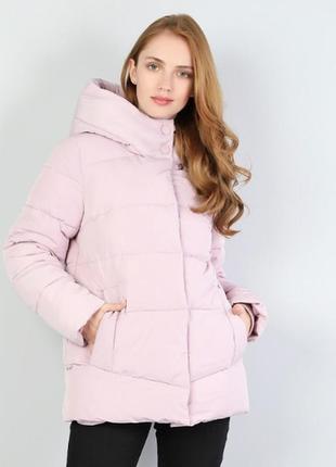 Куртка ( зима) нежно-розовая