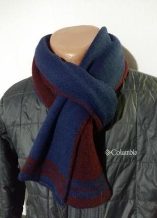 Стильный теплый шарф унисекс