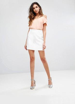 Мини юбка new look | новая