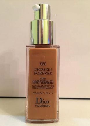 Тональный крем dior diorskin forever spf 25